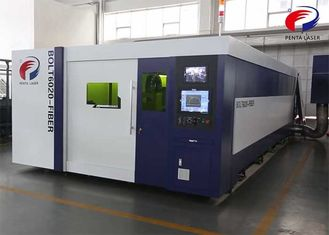 High Accuracy CNC Fiber Laser Cutting Machine 200m/Min Rapid Speed
